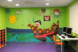 Aula del Hospital Universitario Pio del Rio Hortega